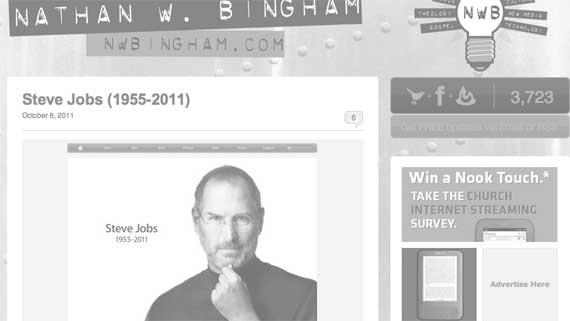 Why I, As A Christian, Wrote A Response To The Death Of Steve Jobs